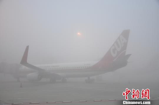 """雾""""锁""""蓉城阻出行民众戏言犹在仙境"""