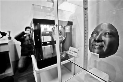 八宝山殡仪馆增3D打印遗体逝者面部10小时内完成