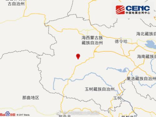青海格尔木发生3.0级地震暂未收到人员伤亡报告