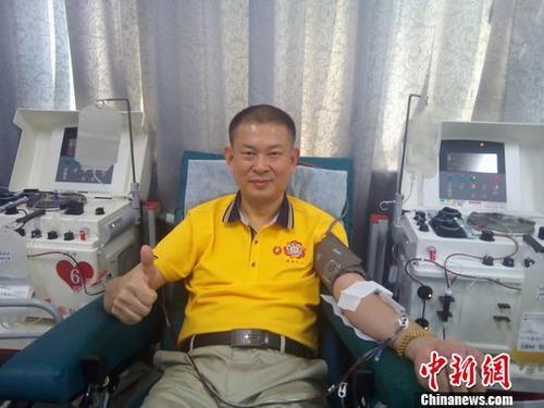 深圳千余潮商无偿献血刷新多个献血纪录