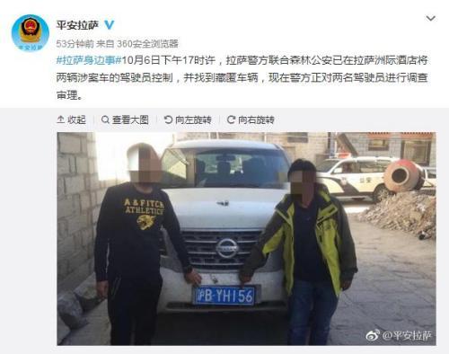 警方通报越野车追碾藏羚羊事件:已控制涉事司机