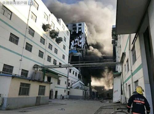 山东昌乐一化工企业发生火灾事故7人死亡4人受伤