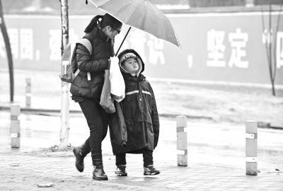 武汉市今日有望普降初雪雨雪与7级阵风双重夹击