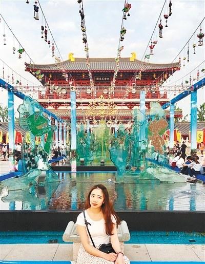 """越南籍留学生愿做""""宣传员""""把西安的美传遍世界"""