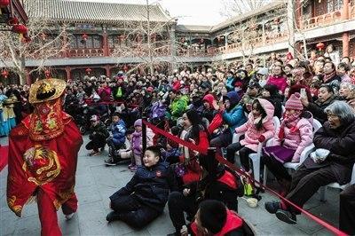 北京市属公园春节迎客百万 客流高峰或持续至初五