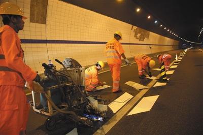 """北京将""""翻新""""118座公路隧道重点排查反光轮廓标等"""