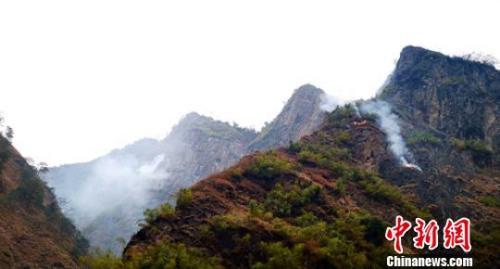 四川甘孜九龙县森林火灾已成功扑灭