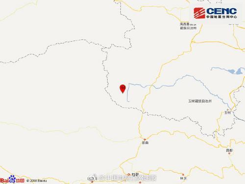 青海海西州唐古拉地区发生3.2级地震 震源深度6千米