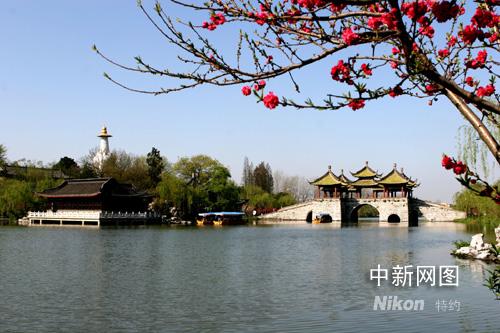 """江苏扬州瘦西湖打造""""没有视觉污染的景区""""; 江苏扬州瘦西湖打造""""没有"""