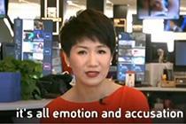 中美新闻女主播隔空互怼