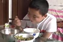 11岁男孩暴饮暴食增肥救父