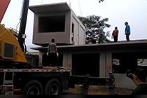 农村现搭积木式盖房 3小时盖两层