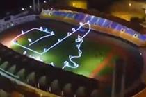 无人机竞速赛 炫酷科技如大片