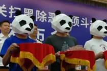 """三人举报涉黑涉恶犯罪团伙 戴""""熊猫头""""领奖励"""