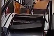 """电梯发生故障突变""""绞肉机"""""""