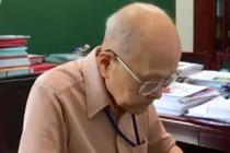 清华最年长授课老师 93岁坚守讲台