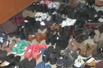 怪癖男子偷鞋266双