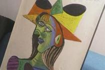 消失20年 毕加索画作再现