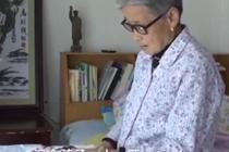 8旬奶奶手绘家庭记事本20年
