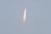中国航天完成首次海上发射