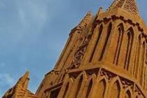 """比利时沙雕节 艺术家打造逼真""""城堡"""""""