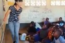 中国女孩零工资非洲支教