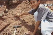 小学生意外发现恐龙蛋