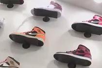炒鞋乱象 限量版球鞋销售火爆