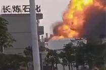 广东珠海高栏港一石化厂发生爆炸