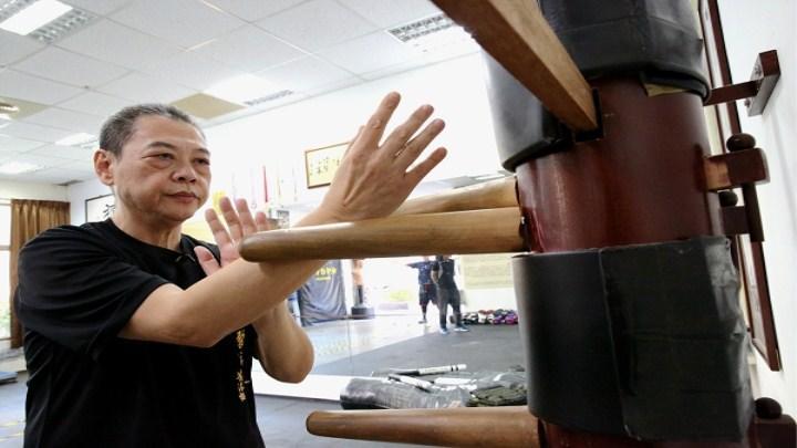 面馆师傅竟是咏春高手 从香港到台湾传承武术精神