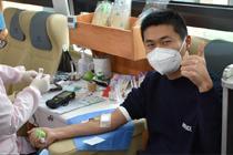 熊猫血志愿者坚持献血13年
