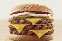 汉堡王用过期面包做汉堡 鸡腿排保质期随意改
