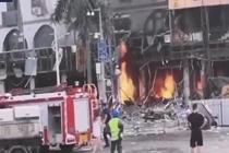 珠海一酒店附近发生爆炸
