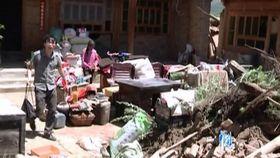 视频 甘肃/岷县漳县地震重灾山村:搜救结束 物资基本到位