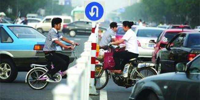你最反感哪些不文明的交通行为?
