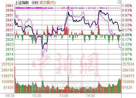 沪指弱势反弹涨0.16%猪肉股大放异彩