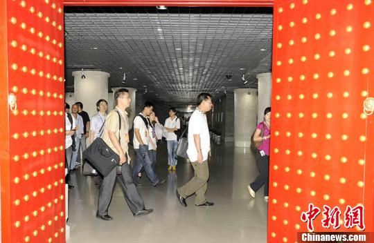 在北京规划展览馆