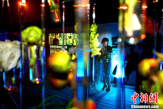 """""""空间花艺设计大赛""""北京798艺术区启动(2)"""