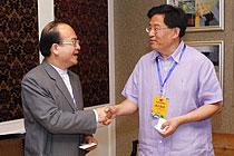 台湾中央社董事长出席论坛