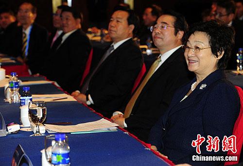 李海峰出席大会专题演讲