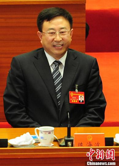 陈海波当选沈阳市长-中新网