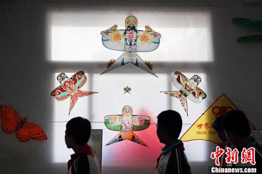 校园风筝博物馆落户南京燕子矶