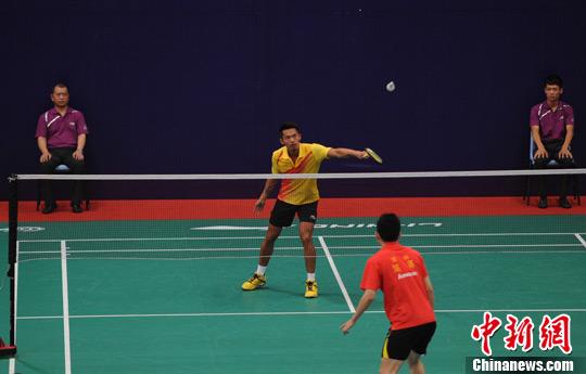 第十二届全运会羽毛球预赛在浙开拍 林丹参赛