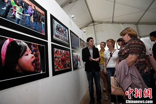 《青岛风情》摄影展在俄罗斯彼尔姆开幕