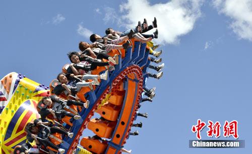 """西藏儿童海拔最高游乐园欢度""""六一"""""""