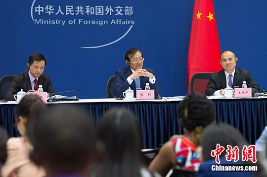 """张明:非洲不是""""竞技场""""中方支持非洲合作伙伴多元化"""