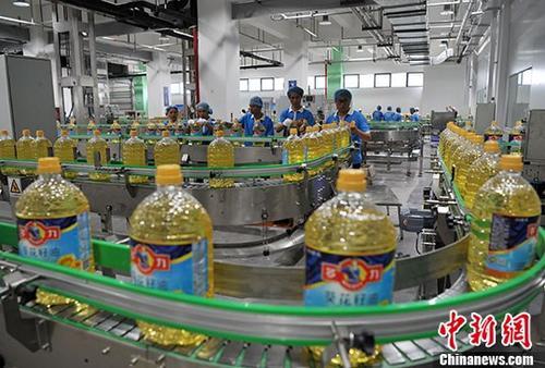 厦门自贸片区首个台企独资食用油脂加工项目投产