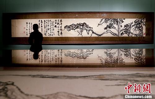 """""""沧海一粟——刘海粟艺术展""""在中国美术馆开幕"""