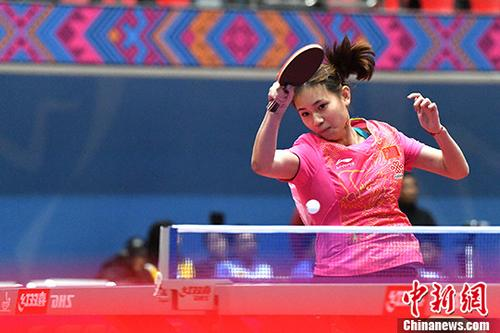 中国—东盟乒乓球赛开赛十一国十二支队伍参赛