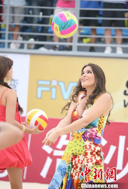 Beach Volleyball Miss World 2010 Event